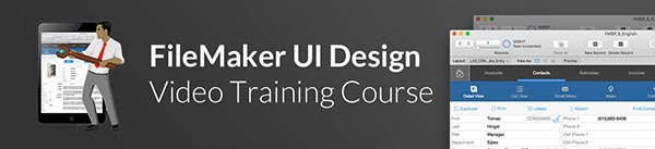 FileMaker UI Design Video Course