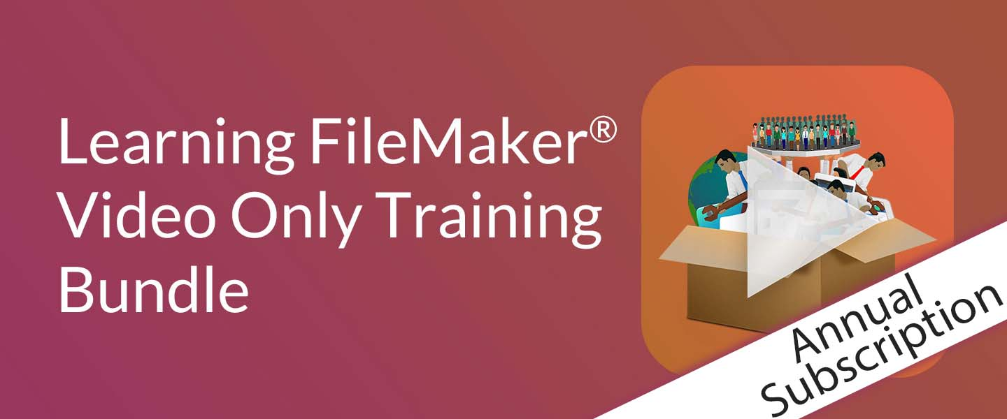 Learning FileMaker Video Only Training Bundle